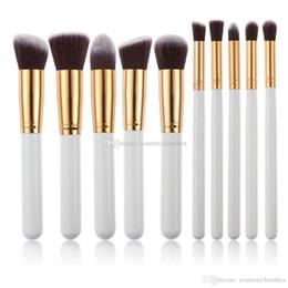Mybasy Professional Classical 10Pcs Makeup Brushes Set pincel maquiagem Cosmetics maquillaje Makeup Tool Powder Eyeshadow Cosmetic Set