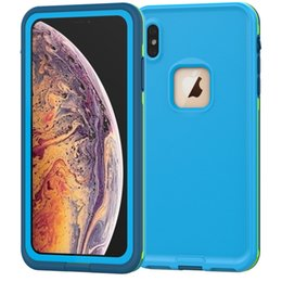 Dropshipping IP68 Swimming Diving Waterproof Anti-knock TPU PC Phone Case For iphone X XS XR XS MAX Underwater 3 Metres