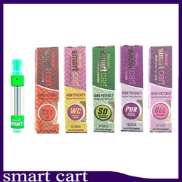 10 flavor for option Smart Cart Vape Cartridge 1.0ml Ceramic Coil 510 Thick Oil SmartCarts Vapor