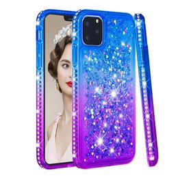 Luxury Metallic Quicksand Soft TPU Case for New iphone 2019 XS Max XR 8 7 6S Plus Heart Gradient Chromed Bling Liquid Plating Cover