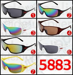 2017 Popular Sunglasses Cool Brand New Designer Sunglasses for Men and Women Outdoor Sport Cycling SUN Glass Eyewear 7 colors Factory Price