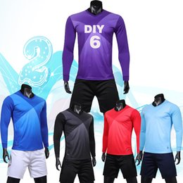 Free shipping, long sleeved 2019 football suit, shirt suit, Machinable name and number.20195542