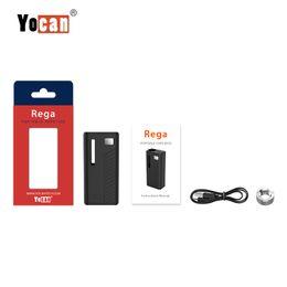 Authentic Yocan Rega Battery Mod 320mAh Variable Voltage Preheat VV Box Mod Thick Oil Pocket Vaporizer