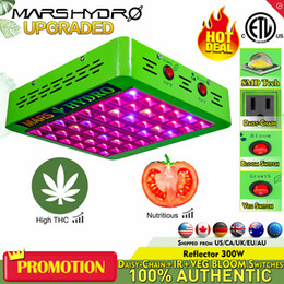 MarsHydro Reflector 240W LED Grow Light Full Spectrum Panel Veg& Flower for Medical Indoor Plant and Hydroponics