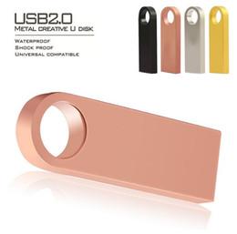USB Flash Drive 32GB 128GB 256GB 16GB Pendrive 64GB Pen Drive 16GB Waterproof Metal U Disk USB Stick Key USB Memory Memoria Custom LOGO
