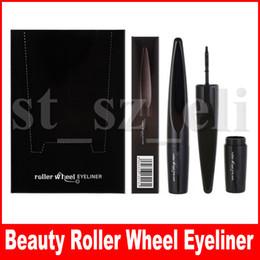 Beauty Eye Makeup Black Roller Wheel Liquid Eyeliner 2g Waterproof Eye Liner Pen Beauty Cosmetics Maquiagem