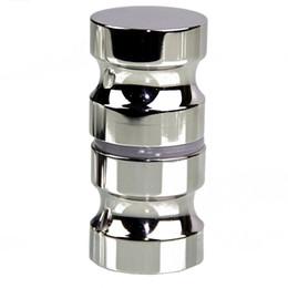 Aluminum alloy glass door handles shower room cabinet handles and knobs for interior door Handle furniture