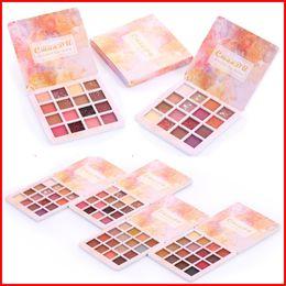 Cmaadu Makeup 16 Color Matte Eyeshadow Pallete Waterproof Nude Eye Shadow Palette Professional Shimmer Glitter Eyeshadow