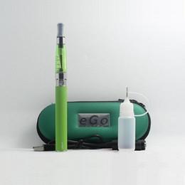 CE4 Starter Kit Zipper Case Single Kit - DHL eGo e-cigs kits ecig kit with battery 650mah 900mah 1100mah and CE4 Atomizer