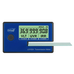 Handheld Window Film Transmission Meter with 1400nm IR rejection UV blocking rate Visible light transmittance LS162A