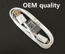 Factory Price Original OEM S4 Cable USB V8 Micro usb Charger Adapter Data Sync Charging Cord for Android phone Samsung Galaxy S6 S7