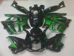 Black Green Fairing Body kit for HONDA CBR600F3 97 98 CBR 600 F3 1997 1998 CBR600 F3 CBR 600F3 Fairings bodywork