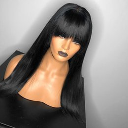 Malaysian Straight Lace Front Wigs Human Hair Wigs With Pre Plucked Hairline Bleached Knots Remy HAIR Straight Full Lace Human Hair Wigs