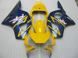 Injection mold Fairing kit For HONDA CBR900RR 02 03 CBR 900 RR Bodywork CBR 900RR 954 2002 2003 Yellow blue Fairings set+gifts