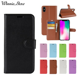 For iPhone XS MAX XR X 8 7 6 6s plus 5S SE Flip PU Leather TPU Back Cover Smart Case with Card Slots Stand Wallet Bag Coque