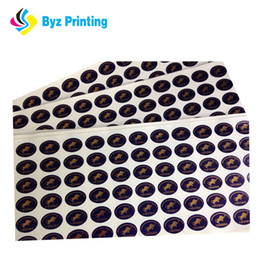 High quality ex-factory recyclable wholesale recyclable colorful round dot label sticker