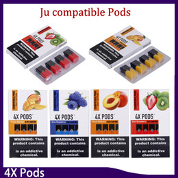4X Pods 1.0ml Large Capacity No Leak 4 Pod Each Pack Vape Cartridge With Oil Compatible Pods VS MR FOG VGOD Stig 0266297-1