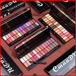 CmaaDU 28 Colors Eye Makeup Eyeshadow Palette Professional Pressed Eye Shadows Shimmer Matte Somky Eye Shadow