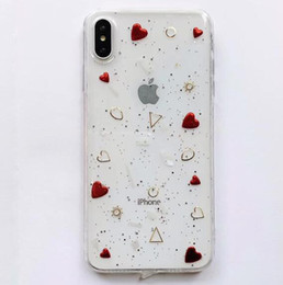 Transparent Soft TPU Clear Rainbow Star Heart Phone Case for iPhone 11 Pro XS Max XR X 8 7 Plus Back Cover