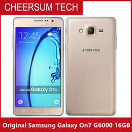 Original Samsung Galaxy On7 G6000 Mobile Phone 5.5''13MP Quad Core 1280x720 Dual SIM Smartphone 4G LTE Unlocked Mobile phone