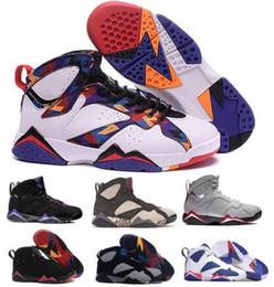 Cheap 7 Basketball Shoes Men Women 7s VII Purple Patta Bordeaux Reflections Of A Champion Bucks Raptor Zapatos Trainers Sport Shoes Sneakers