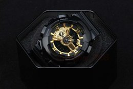 New men sports watch digital watches auto led all pointer work waterproof with box and tags
