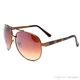 2019 Fashion Big Metal Frame Sunglasses for Men Handsome FACE Sun Glasses 1146 Sun Shades Sunglasses Eyewear Good Quality Brand Sunglasses