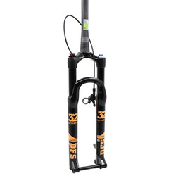 """1.39KG DFS Carbon air fork DFS-RLC-TP-RCE-TC-15X100 29"""" suspension mountain fork bicycle MTB fork REMOTE lock out 90mm travel"""