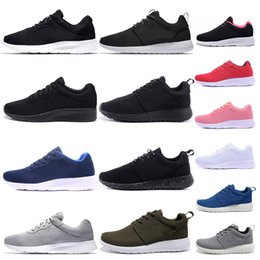 Cheap Tanjun Run Running Shoes for men women black low Lightweight Breathable London Olympic Sports Sneaker Trainers size 36-45