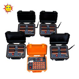 Free shipping good quality 96 channels   96 cues Sequential and Salvo fire Wireless Remote Control Fireworks Firing System