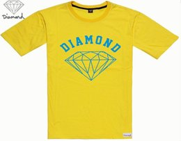 s-5xl free shipping men hip hop Diamond Supply Men's Quick Dry o-neck Print T-shirt Cotton Men 1400028