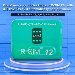 R-SIM12+ RSIM 12+ RSIM12+ R SIM 12Plus Unlocking Card for iPhone XS Max IOS12.2 IOS12.3 iccid Unlock SIM