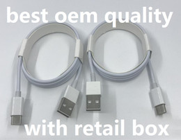 Micro USB Charger Cable OEM Quality 1M 3FT 2M 6FT Sync Data V8 Type C Cord With Original Retail Box For Samsung S7 S8 S9 Note 9 Huawei P 8 7