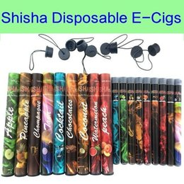 Shisha pen Eshisha Disposable Electronic cigarettes E cigs 500puffs 30 type Various Fruit Flavors Hookah pen