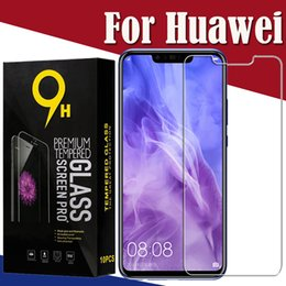 9H Clear Tempered Glass Screen Protector Film Guard For Huawei Honor 20i Pro Lite Note 10 V20 Play 8A 8C 8S 8X Y Max Scratchproof With Box