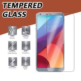 9H Premium Clear Transparent Tempered Glass Screen Protector Film Guard For LG K30 K40 V40 V50 L80 L90 Shockproof Antiknock