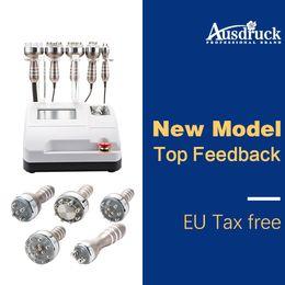New More effective 40k Ultrasonic Liposuction Cavitation Radio Frequency RF vacuum head Weight Loss Machine