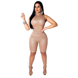 Free shipping Sequins Long Sleeve Bodysuit Ladies high quality Romper Jumpsuit Retail Wholesale Sequin Rompers Club Wear