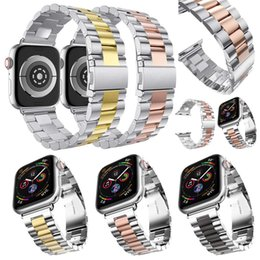 Strap For Apple Watch band 4 42mm 38mm 3 iwatch band 44mm 40mm Stainless Steel correa link Bracelet watch Accessories