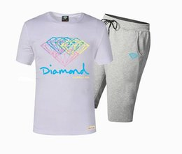 s-5xl A55 Free Shipping Fashion Man Short Sleeve hip hop t shirt +pants Men's suit brand Tracksuits