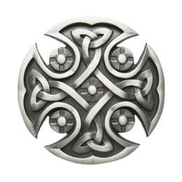 New Original Celtic Knot Cross Western Wildlife Vintage Wedding Cosplay Costume Belt Buckle Gurtelschnalle Boucle de ceinture