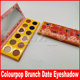 Zoella x Colourpop Face Makeup Brunch Date Eye shadow 12 colors matte & shimmer eye pressed powder palette