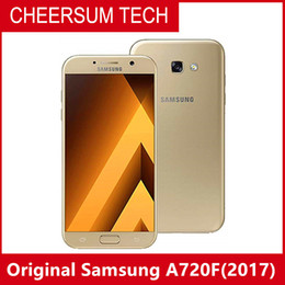 hotsale Unlocked Refurbished Original Samsung Galaxy A7 A720F 2017 dual SIM Cell Phone Octa Core 3GB 32GB 5.7 Inch 16MP 4G LTE free post