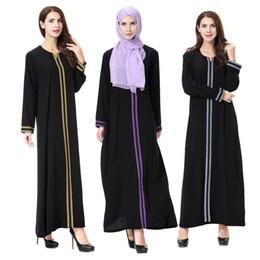 Women Black Abaya Muslim Dress Cardigan Robes Arab Kaftan Abaya Islamic Clothing Adult Dress DK750MZ