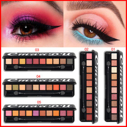 Cmaadu Professional Eye shadows Makeup 10 Color Eye Shadow Pigment Cosmetics Shimmer Matte Eyeshadow Palette Women Beauty Makeup 5 Styles