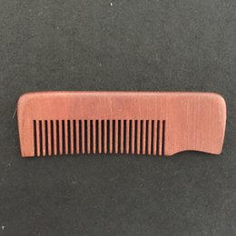 Wooden Beard Comb Wholesale Fine Teeth Amodong Wood, Perfect for use with Balms and Oils, Top Pocket Comb for Beards & Mustaches * BUY NOW!*