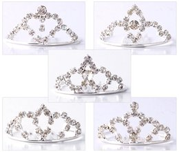 Exquisite Women Jewelry Drop Shipping Wholesale 10Pcs Lot Fashion Tiaras Silver Plated Rhinestone Metal Hair Combs, New Fashion Hair Combs