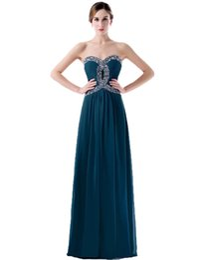 2019 Custom Made Formal Bridesmaid Dresses A-Line Sweetheart Backless Beading Long Floor Length Junior Bridesmaid Dress
