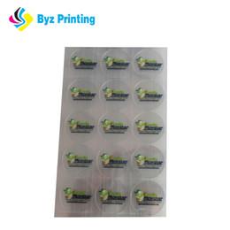 """2""""square shape transparent sticker with quantity 5000pcs 1""""square shape transparent sticker with 5000pcs"""
