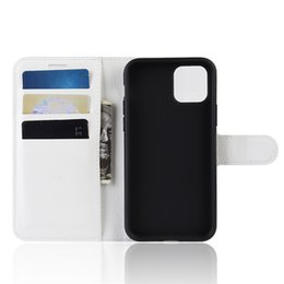 For Iphone 11 pro max xs sr xs x 7  8  6  5  5s IPHONE 7 8 Plus Litchi Pattern Leather wallet case slot card wallet standholder case